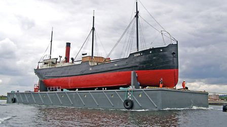 The SS Robin. Picture: Ambrose Greenway