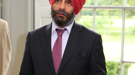 The launch of the pride in redbridge campaign at Valentines Mansion.