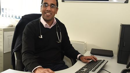 Ilford doctor Mehul Mathukia who is part of a project to find out why people of Bangladeshi and Paki