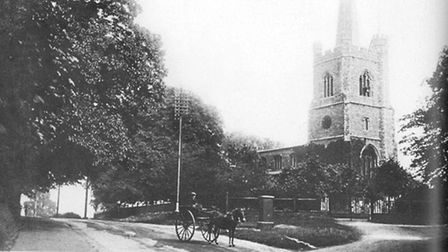St Andrew's Church, Hornchurch in 1910