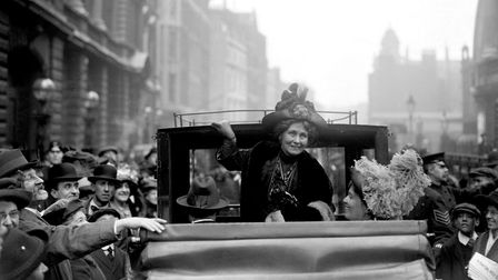 Emmeline Pankhurst. Picture: PA Wire/PA Images