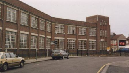 The Plessey factory in Vicarage Lane, Ilford, shortly before it closed in 1992.