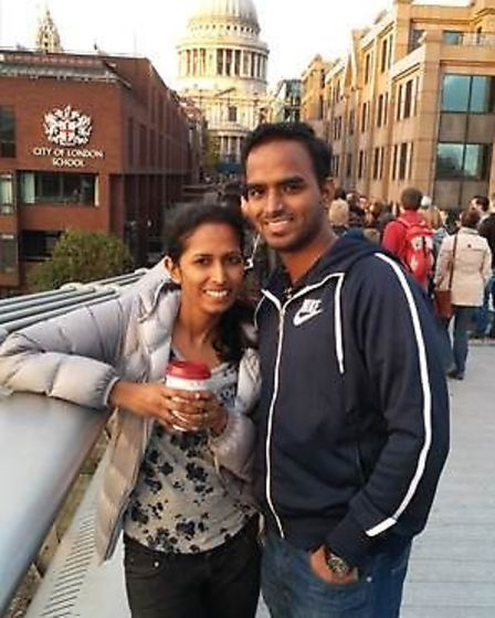 Rajee and her husband Mani moved to the UK from Chennai, India, in 2010.
