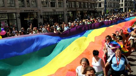 London has a Pride parade every summer, but the fight against homphobia continues.