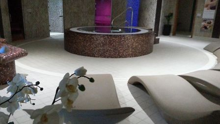 ALL READY: The newly-completed thermal spa area at Waterlane Leisure Centre in Lowestoft.