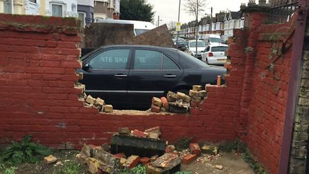 Samir Sabbir believes the hole in the wall gang have returned and targeted his property in Green Lan