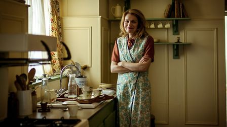 Rochelle in a 1940s Kitchen. Picture Wall to Wall, Duncan Stingemore.