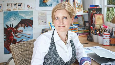 How to Train Your Dragon author Cressida Cowell will introduce young readers to the characters of he
