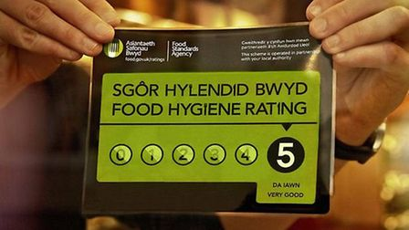 Havering ranks fifth lowest in the latest food hygiene standards study.