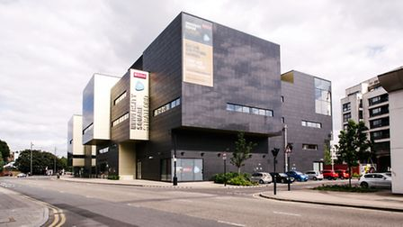 University of East London's Stratford Campus