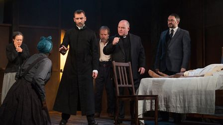 The cast of The Crucible. Picture: Alessia Chinazzo.