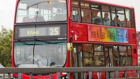 The shooting took place on board a 25 bus