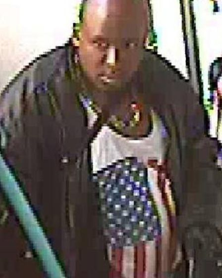 Do you know this man? Police want to speak to him in conecction with a BB gun assult. Picture Met Po