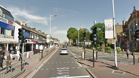Ilford High Road. Picture Google.