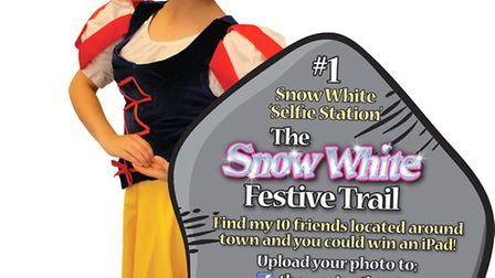 People in Lowestoft are being encouraged to take part in Snow Whites Festive Trail. Picture: SUPPLIE