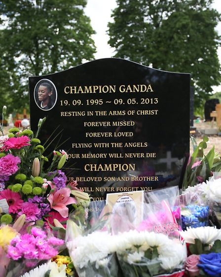 Champion is buried at Manor Park Cemetery.