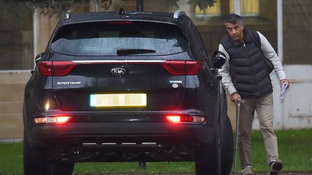 John De'Viana, 54, outside Snaresbrook Crown Court. He was cleared of two counts of child cruelty. (