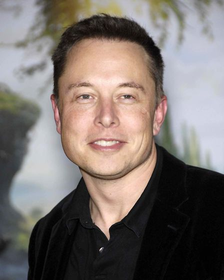 "Elon Musk attending ""Oz The Great and Powerful"" World Premiere held at the El Capitan Theatre in Los"