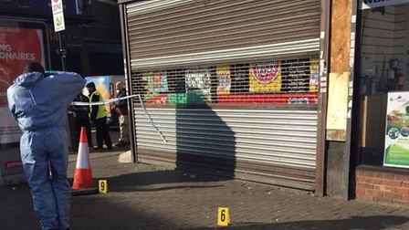 A 30-year-old man was struck over the head during a robbery in Upton Lane this morning. Picture: Mub