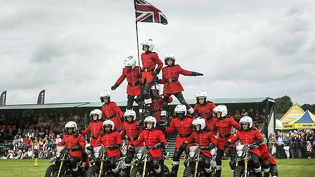 Members of the Imps Motorcycle Display Team, who were trained by Kieron Fevrier (Picture: Danny Laws