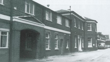 The offices of the old Romford workhouse, built in 1839. Picture:From A Century of Romford by Brian