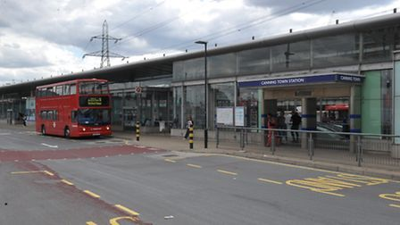 Canning Town station had to be evacuated this evening after a security alert. It has since reopened.