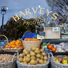 Harveys Fruit and Vegetable shop on Wanstead High Street. It is one of the shops which residents are