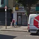 The Mortgage Centre, in Cranbrook Road, Ilford. Two men, who used the store to fleece vulnerable fam