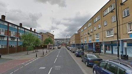 The man was stabbed to death Freemasons Road. Picture GOOGLE