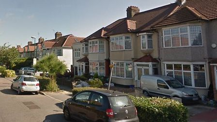 Preston Drive, Wanstead, was the scene of an unusual escape by a burglar this week 40 years ago. Pho