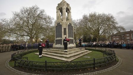 The Cenotaph at East Ham's Central Park