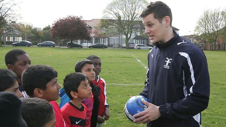 Tony Charles has been nominated for awards for his football coaching sessions. He has also been comm