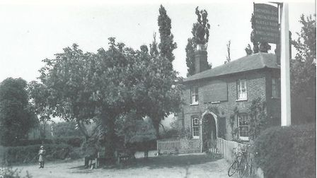 Shepherd and Dog, Harold Wood, in the early 1920s. Picture: Havering Village to Harold Wood by Chris