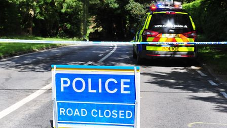 Fatal road traffic accident on B1375, Parkhill, Oulton, Lowestoft.