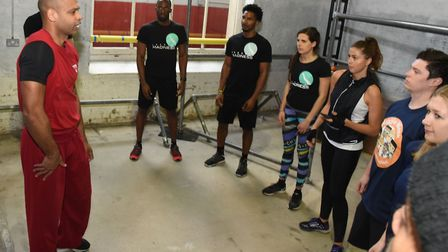 The London Sport's Move Me launch at the Chainstore Parkour Academy