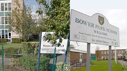 Hall Mead School and Bower Park Academy. Picture: Google Maps