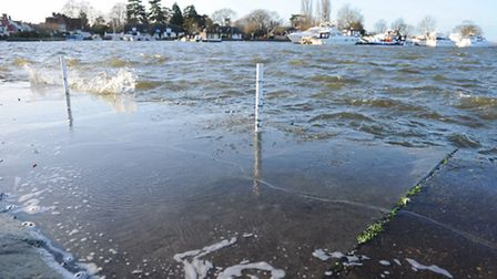 More bad weather is on the way following flood alerts at the weekend. Picture: James Bass