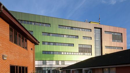 Lowestoft's new-look college block. Picture: David Woodcock Photography