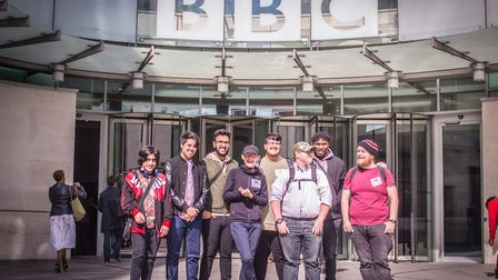 Students from Chadwell Heath Academy received talks about the media industry from a number of profes
