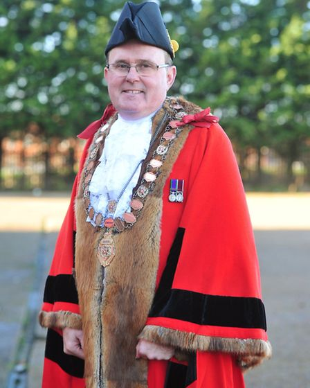 Stephen Ardley from Lowestoft Auction rooms is the new Lowestoft Town mayor.