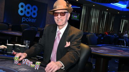 83-year-old poker player Alan Trinnaman is hoping to win big at the Easter poker tornament at Aspers