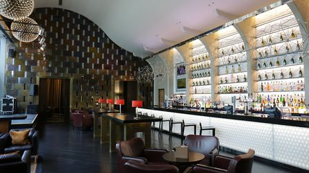 Bar area at Aspers Casino