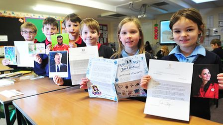 Youngsters from Red Oak Primary school, Lowestoft have recieved many letters from celebrities after