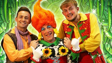 Lowestoft Players panto - Jack and the Beanstalk. The Trotts.