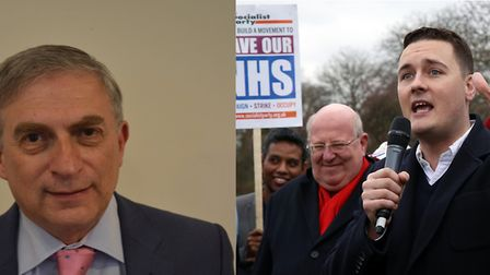 Ilford North candidates: Conservative Lee Scott (left) and Labour's Wes Streeting (right).