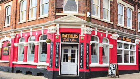 Bayfields pub on High Street, Lowestoft has re-opened after a recent fire.