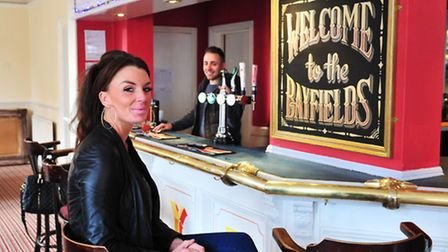 Bayfields pub on High Street, Lowestoft has re-opened after a recent fire. Andrina Lavery (manager)