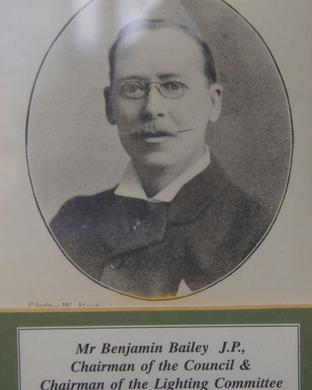 Benjamin Bailey was a 'positive influence on Ilford's development'. Picture: Redbridge Information a
