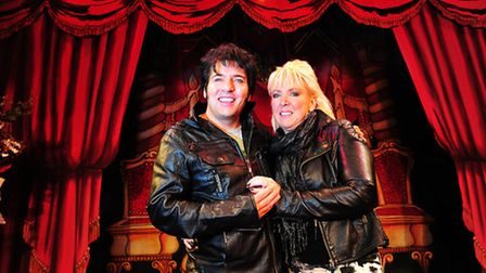Lowestoft Panto Star Rick Gaynor proposed to his partner Sharon Hutchinson on stage.