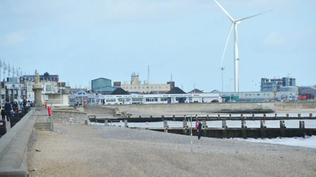 A section of Lowestoft South beach is still shut - but an end to the closure is in sight.